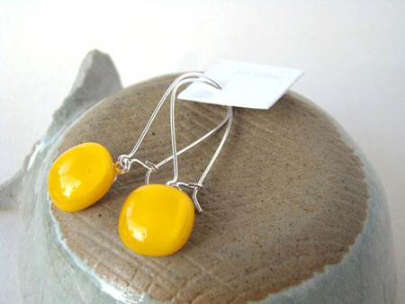 Hot Toffee Drop Earrings